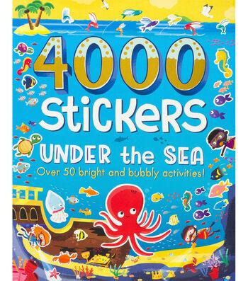 Parragon 4000 Stickers Kit-Under The Sea