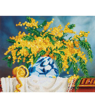"Diamond Embroidery Facet Art Kit 19.5""X23.5""-Native Wattle"