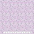 Keepsake Calico Cotton Fabric-Light Purple Packed Floral