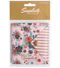 Simplicity Vintage Needle Keeper-Floral