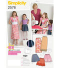 Simplicity Pattern 2576HH 3 4 5 6 -Simplicity Child Gir