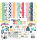 Echo Park Collection Kit 12\u0022X12\u0022-Creative Agenda