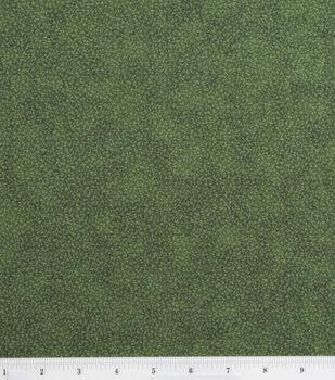 Keepsake Calico Cotton Fabric -Illusions Dark Green Vines