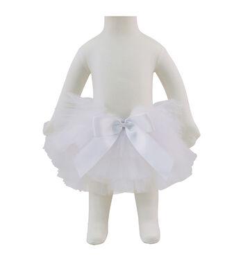 Maker's Halloween Infant Tutu-White
