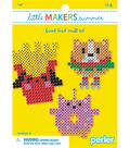 Little Makers Summer Fused Bead Craft Kit-Food Faces