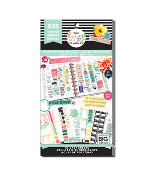 The Happy Planner 635 pk Stickers-Empowering Woman