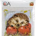 Collection D\u0027art Stamped Needlepoint Cushion Kit-Hedgehog