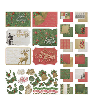 Couture Creations Naughty Or Nice 12''X12'' Collection-Stickers