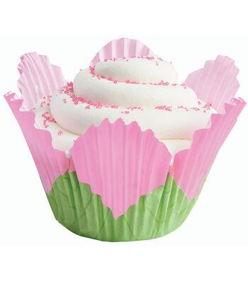 Wilton Baking Cups-24PK/Petal Pink