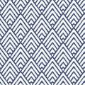 WallPops NuWallpaper Deep Blue Arrowhead Peel  & Stick Wallpaper