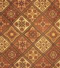 Home Decor 8\u0022x8\u0022 Fabric Swatch-Upholstery Fabric Barrow M7151-5355 Tobacco