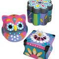 Craft EZ Oven Porcelain Trinket Boxes
