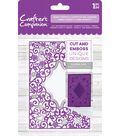 Crafter\u0027s Companion 4.25\u0027\u0027x5\u0027\u0027 Cut & Emboss Folder-Heart Confetti
