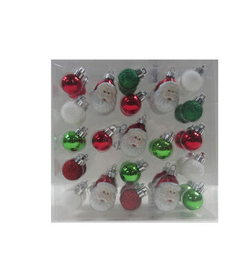 Maker's Holiday Christmas Whimsy Workshop 42 pk Mini Boxed Ornaments
