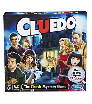 Hasbro Gaming Cluedo The Classic Mystery Game Kit