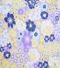 Premium Cotton Fabric-Maeve Flowers