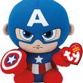 Ty Beanie Babies Regular-Captain America