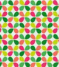 54\u0022 Modern Essentials Print Fabric-Teardrop Twirl Fruit Punch