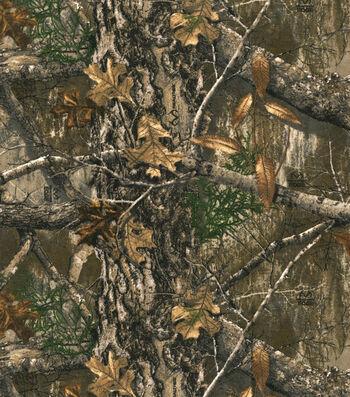 Realtree Flannel Fabric-Edge