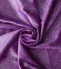 Let\u0027s Pretend Fabric-Violet Glitter Panne
