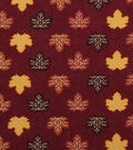 Harvest Cotton Fabric 43\u0022-Tossed Leaves