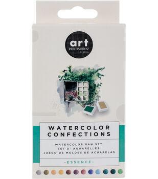 Prima Marketing Watercolor Confections Watercolor Pan Set-Essence