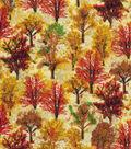 Harvest Cotton Fabric 43\u0022-Harvest Forest