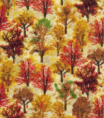 "Harvest Cotton Fabric 43""-Harvest Forest"