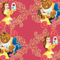 Disney Beauty & The Beast Cotton Fabric -Belle