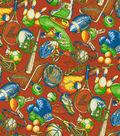 Home Decor 8\u0022x8\u0022 Fabric Swatch-Covington Sports Nut