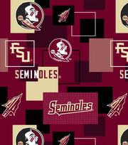 """Florida State University Seminoles Cotton Fabric 43""""-New Block, , hi-res"""