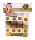 Lion Brand Vanna\u0027s Palette Bonbons Yarn 8/Pkg- Essential