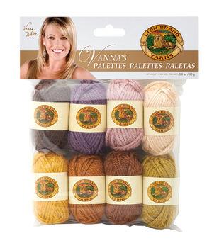 Lion Brand Vanna's Palette Bonbons Yarn 8/Pkg- Essential