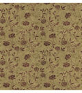 Giacamo Light Brown Jacobean Trail Wallpaper Sample