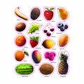 Carson Dellosa Fruit Photographic Stickers 12 Packs