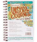 Strathmore Visual Journal Watercolor 5.5\u0022X8\u0022-34 Sheets