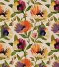 Robert Allen @ Home Lightweight Decor Fabric 55\u0022-Bella Flora Fresh Mango