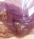Casa Collection Fabric-Casa Tulle Tawny Port