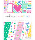 Park Lane 6\u0022x8\u0022 Paper Pad-Happy Day