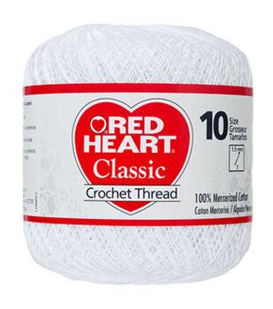 Red Heart Classic Crochet Thread Size 10