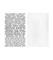 Tim Holtz Idea-ology 2 pk 7.63''x4.75'' Remnant Rubs-Tiny Text, , hi-res