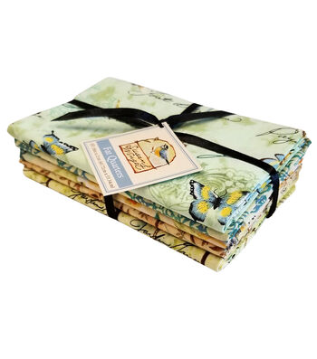 Fat Quarters Pre-Cut Fabric Bundle-Morning Song