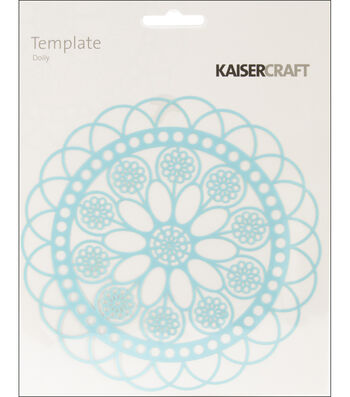 """Template 6""""X6""""-Doily"""