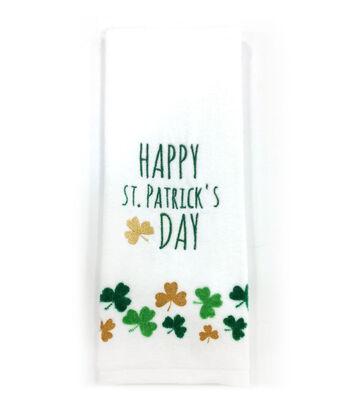 St. Patrick's Day 28''x16'' Towel-Happy St. Patrick's Day