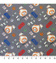 Star Wars Cotton Fabric-Bb-8 And D-O, , hi-res