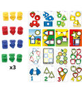 Nuts & Bolts School Activity Set, 72 Pieces