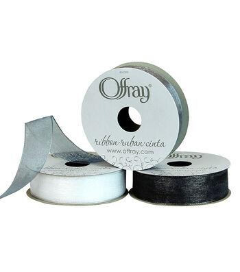 """Offray 7/8""""x21' Simply Sheer Ribbon"""
