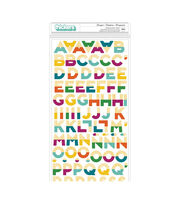 American Crafts Stay Colorful Dear Lizzy Thickers Stickers-Marquee Multi, , hi-res