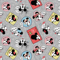 Mickey & Minnie Fleece Fabric-Travel