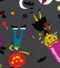 Halloween Cotton Fabric -Friendly Monsters